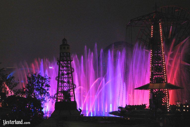World of Color testing