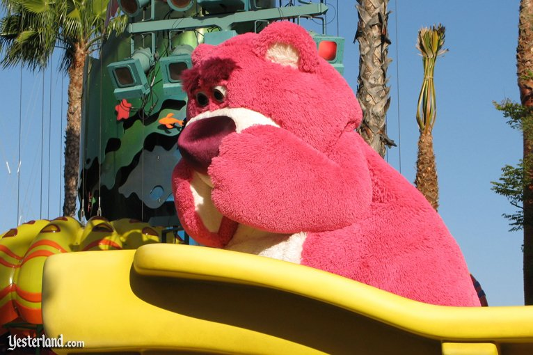 Lots-o'-Huggin' Bear in Pixar Play Parade