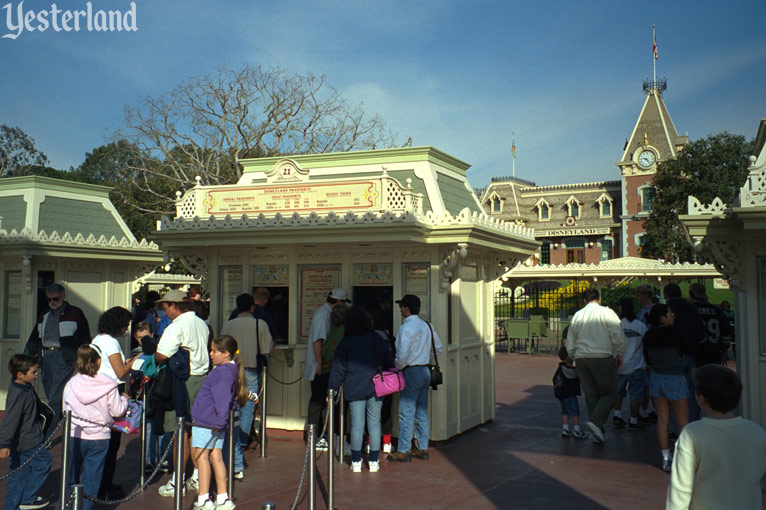 Ticket Booths at Disneyland, 1998