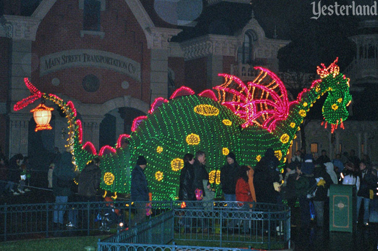 Main Street Electrical Parade at Disneyland Paris