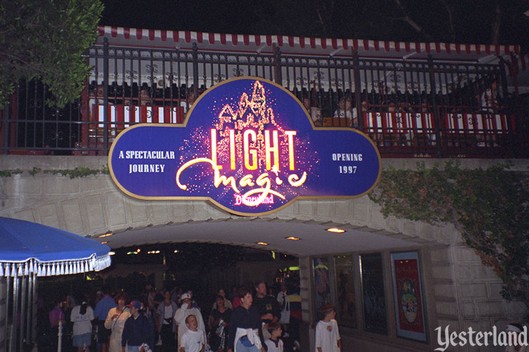 Light Magic sign at Disneyland