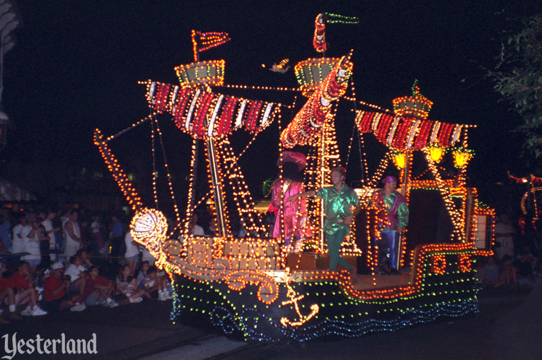 Main Street Electrical Parade at Disneyland