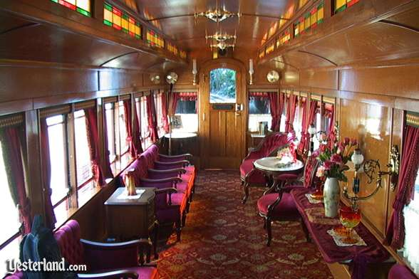 passenger train at yesterland. Black Bedroom Furniture Sets. Home Design Ideas
