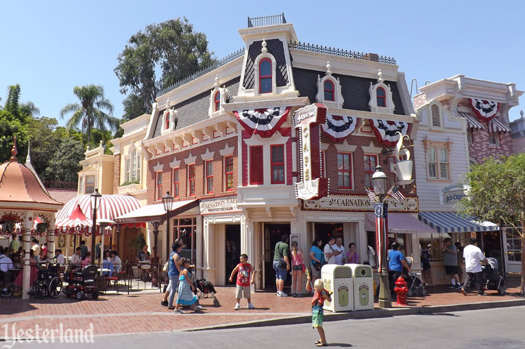 Carnation Cafe at Disneyland