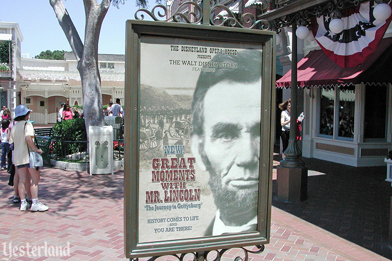 Great Moments with Mr. Lincoln, Disneyland