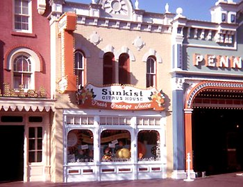 The Sunkist Citrus House, next door to the Penney Arcade