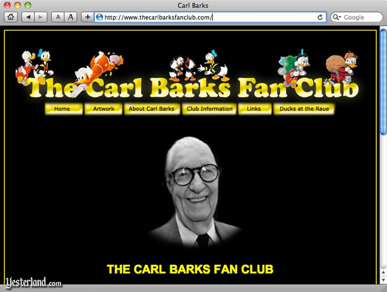 Carl Barks Fan Club