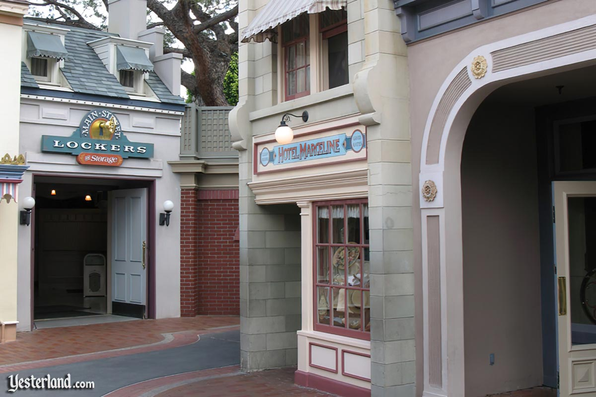 Hotel Marceline location at Disneyland