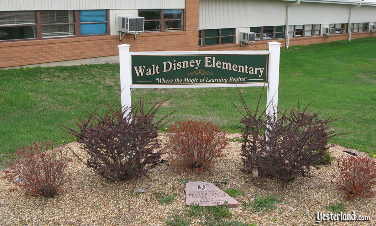 Walt Disney Elementary School in Marceline, Missouri