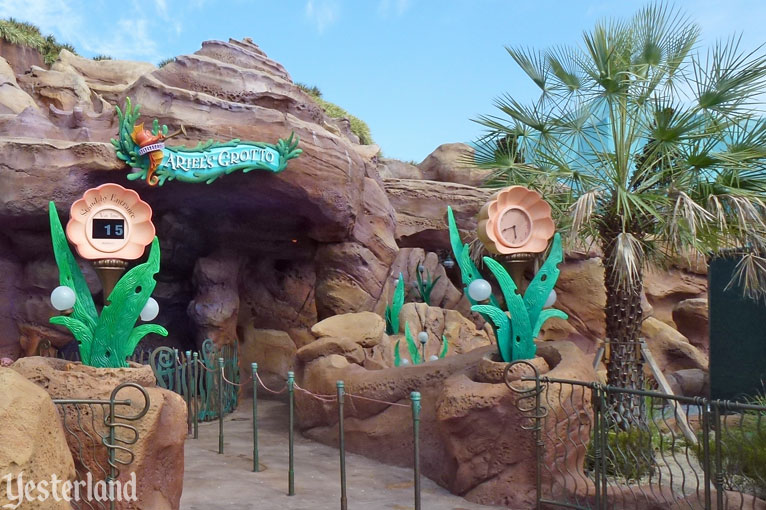 The new Ariel's Grotto at Magic Kingdom Park
