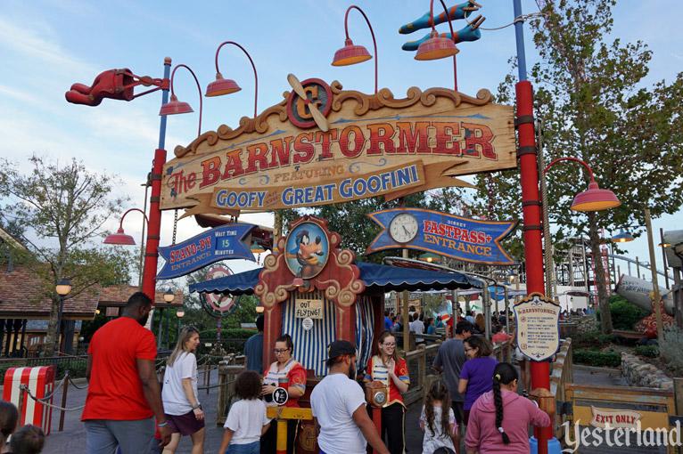 Yesterland The Barnstormer At Goofy S Wiseacre Farm