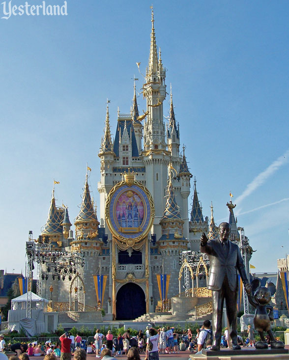 Magic Window On Cinderella Castle