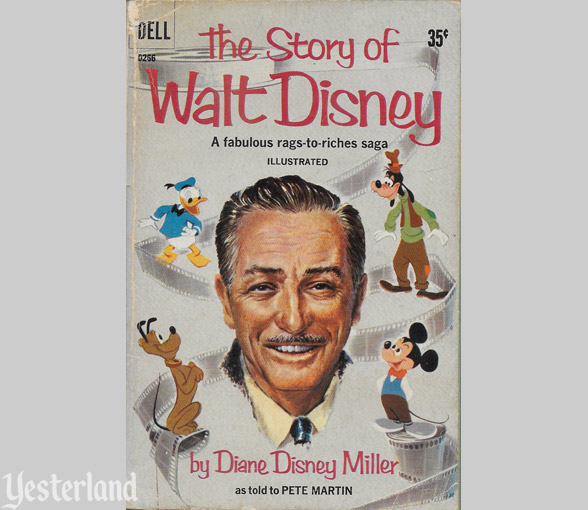 Cover of The story of Walt Disney by Diane Disney Miller, 1957
