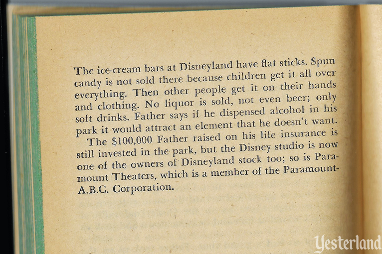 Text from The story of Walt Disney by Diane Disney Miller, 1957