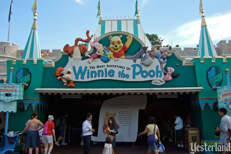 The Many Adventures of Winnie the Pooh at Magic Kingdom Park