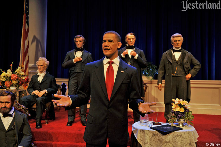 President Barack Obama, Hall of Presidents at Magic Kingdom Park, Walt Disney World