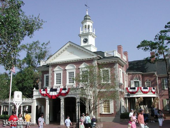 Hall of Presidents in Liberty Square at the Magic Kingdom (2004 photo)