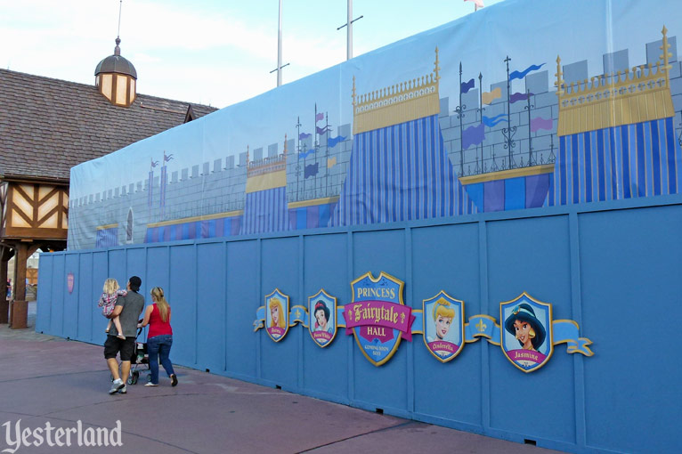 Princess Fairytale Hall construction