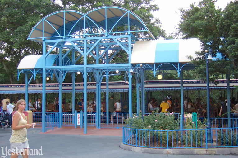 Mickey's Toontown Fair Train Station at Magic Kingdom Park