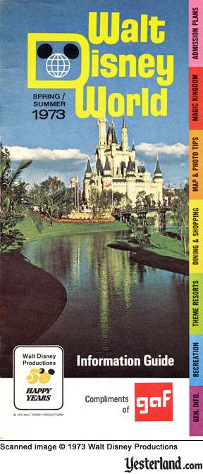 Yesterland The Magic Kingdom In 1973