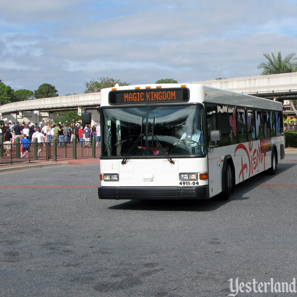 Walt Disney World Transportation Bus