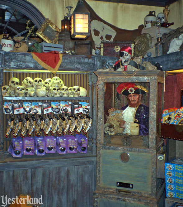 Pirate's Arcade Museum at Disneyland