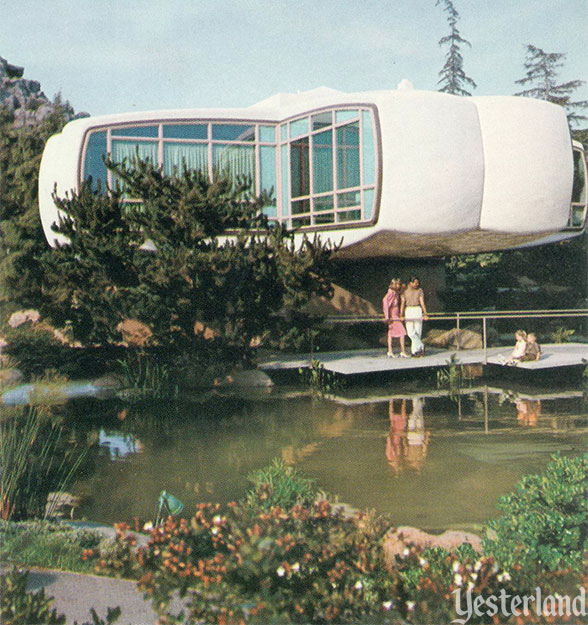 Monsanto House of the Future at Disneyland