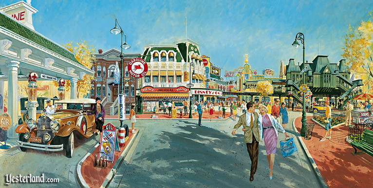 Disneyland Paris, From Sketch to Reality