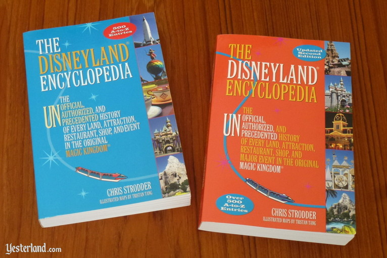 Book Review at Yesterland: The Disneyland Encyclopedia, 2nd Edition, by Chris Strodder