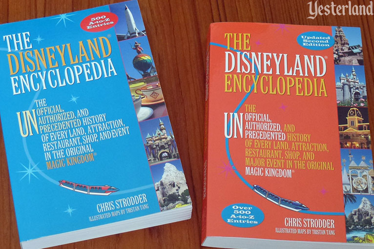 The Disneyland Encyclopedia by Chris Strodder, 1st Edition and 2nd Edition