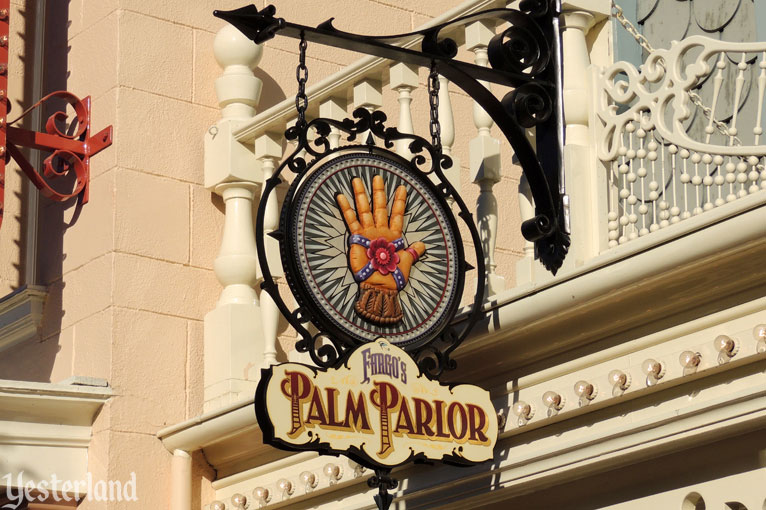 Palm Parlor sign honoring Rolly Crump