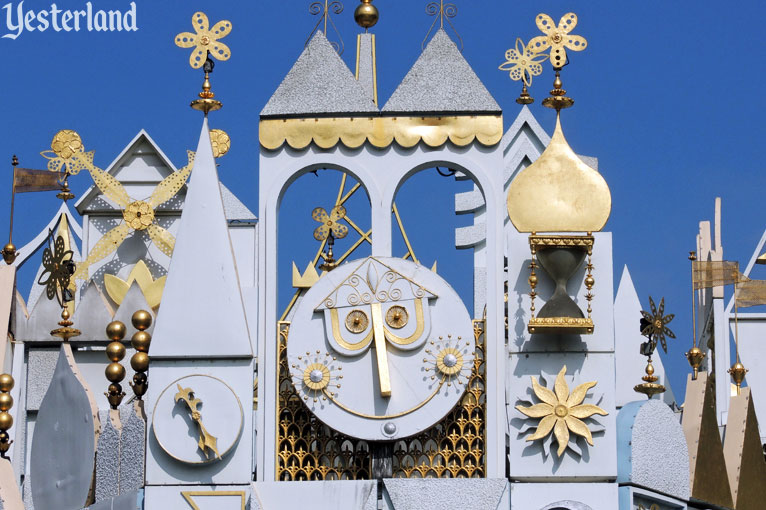 "The clock on ""it's a small world'"