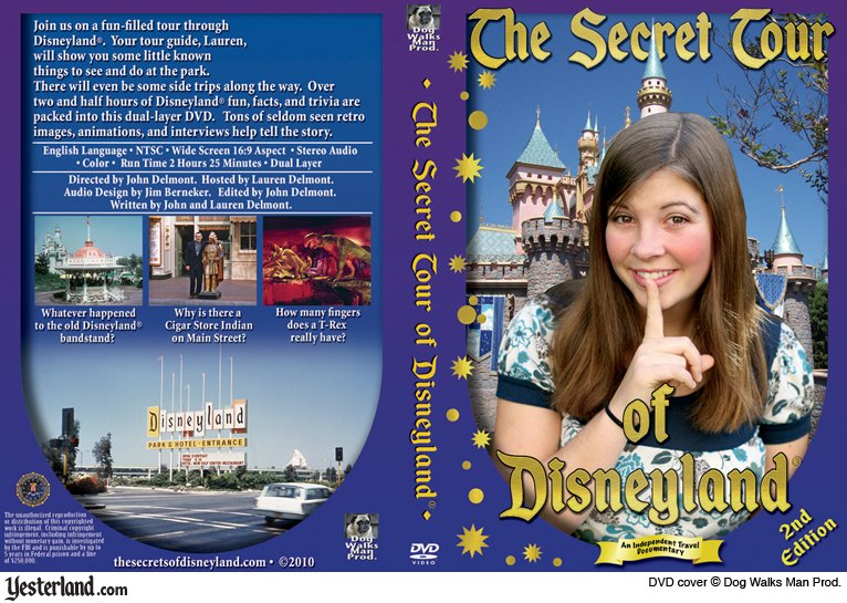 The Secret Tour of Disneyland