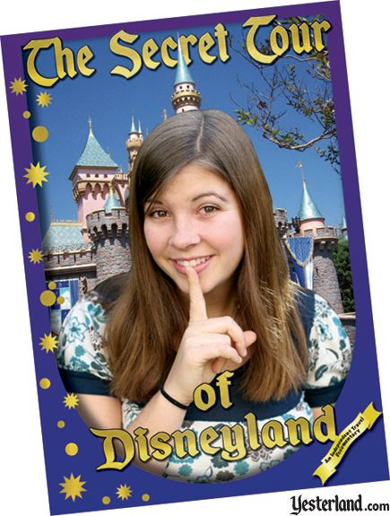The Secret Tour of Disneyland DVD cover