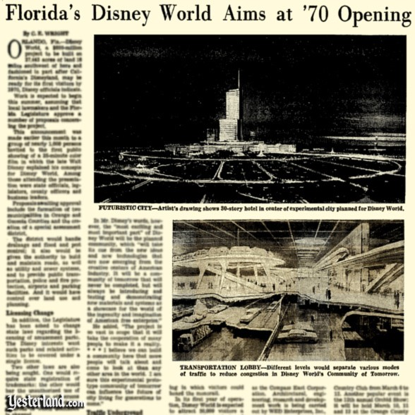 New York Times, February 19, 1967 (text blurred due to copyright)