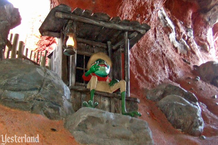Br'er Frog in Splash Mountain, Magic Kingdom Park