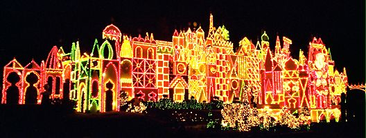 it's a small world holiday - night