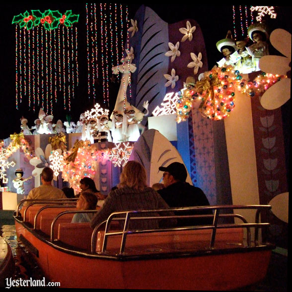 """it's a small world"" Holiday, Disneyland"