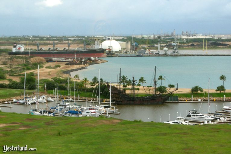 Kalaeloa Harbor beyond the Ko Olina Beach Marina