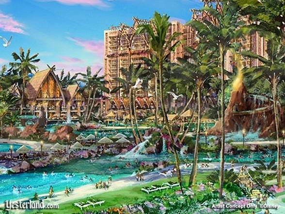 Artist rendering of Disney's Ko Olina Resort © Disney