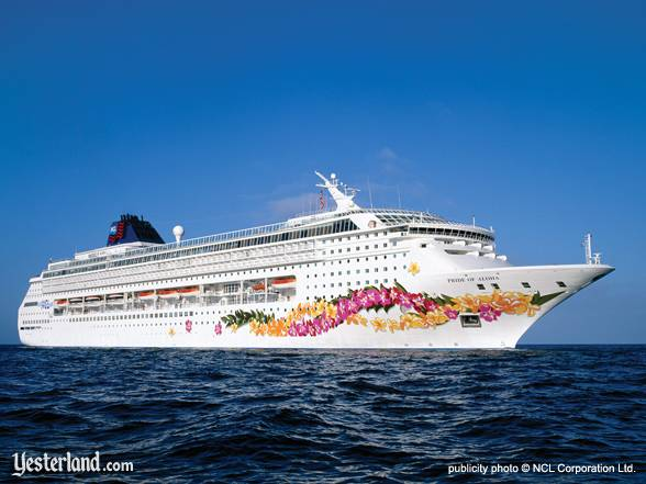 Publicty photo of Pride of Aloha © NCL Corporation Ltd