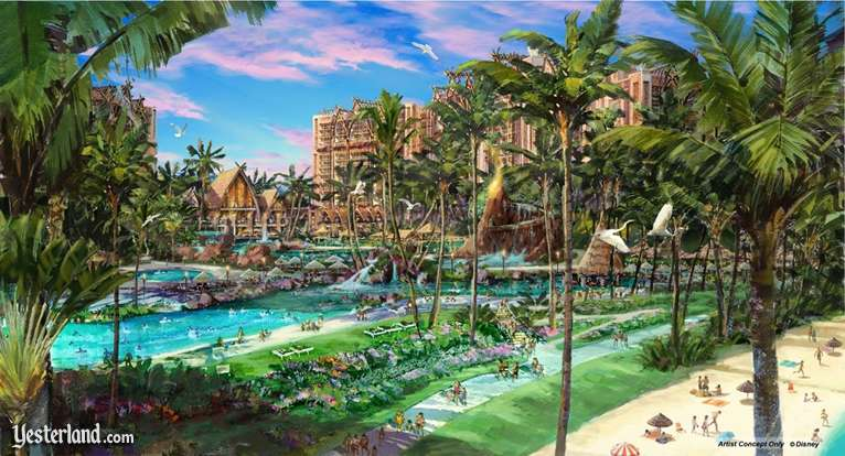 Artist Rendering Of Disney S Ko Olina Resort