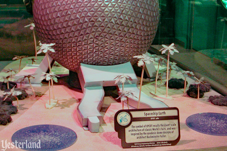 Spaceship Earth model at One Man's Dream at Disney's Hollywood Studios
