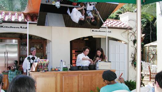 Photo of culinary demonstration