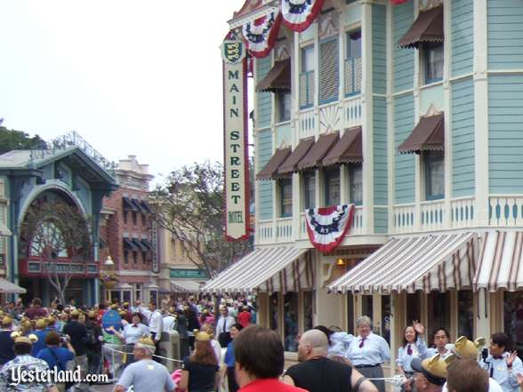 Main Street Hotel at Disneyland