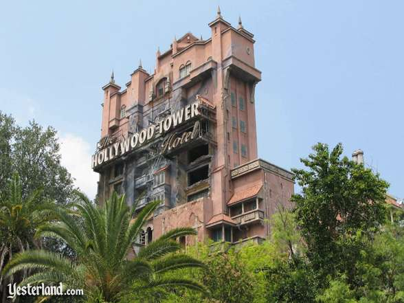 Hollywood Tower Hotel at Disney-MGM Studios