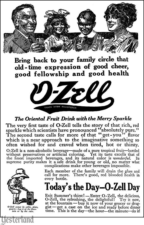 O-Zell advertisement, July 16, 1914