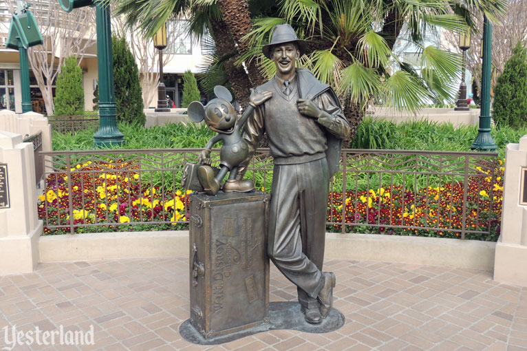 Storytellers Statue on Buena Vista Street at Disney California Adventure