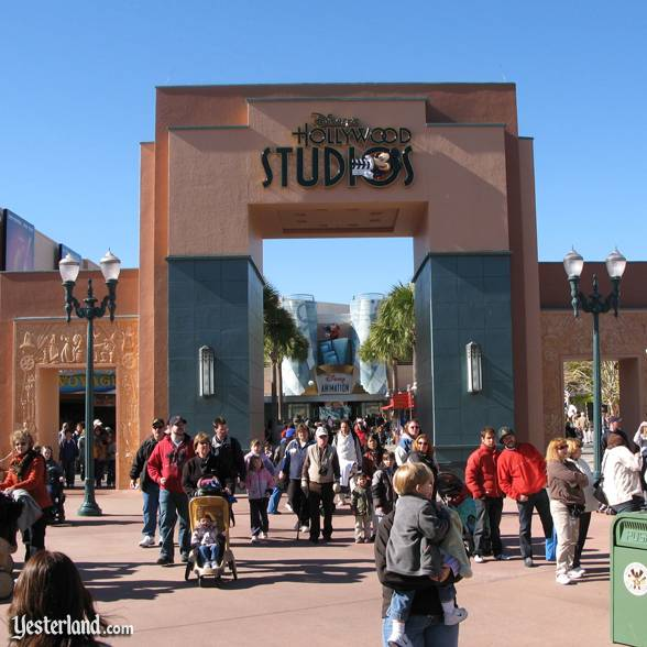 Disney's Hollywood Studios gate