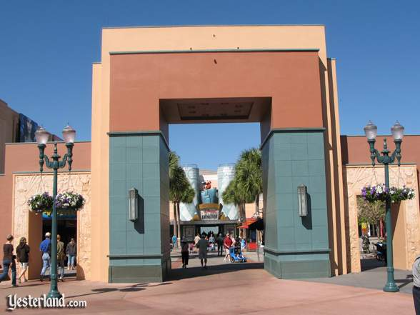 Disney's Hollywood Studios Animation Courtyard gate